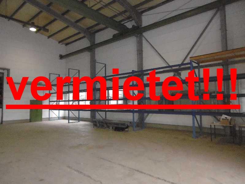 Vermietet!!! Tönisvorst: Zwei Gewerbe-/Produktionshallen mit 5 to Krananlage und Freigelände