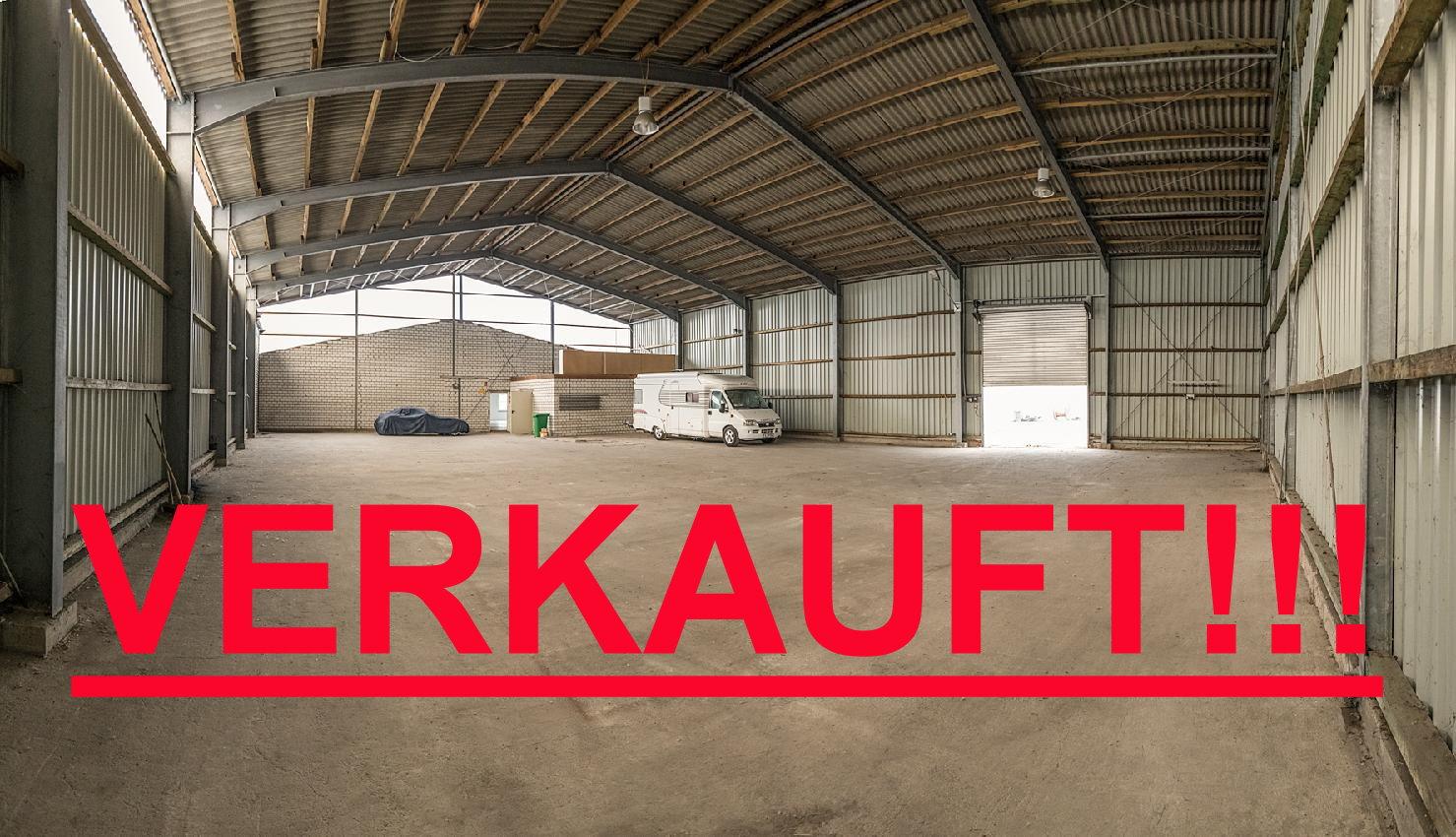 APPL-Immobilien bietet an: Lagerhalle kurzfristig beziehbar 600 m² bei Gewerbesteuersatz: 370 v. H.