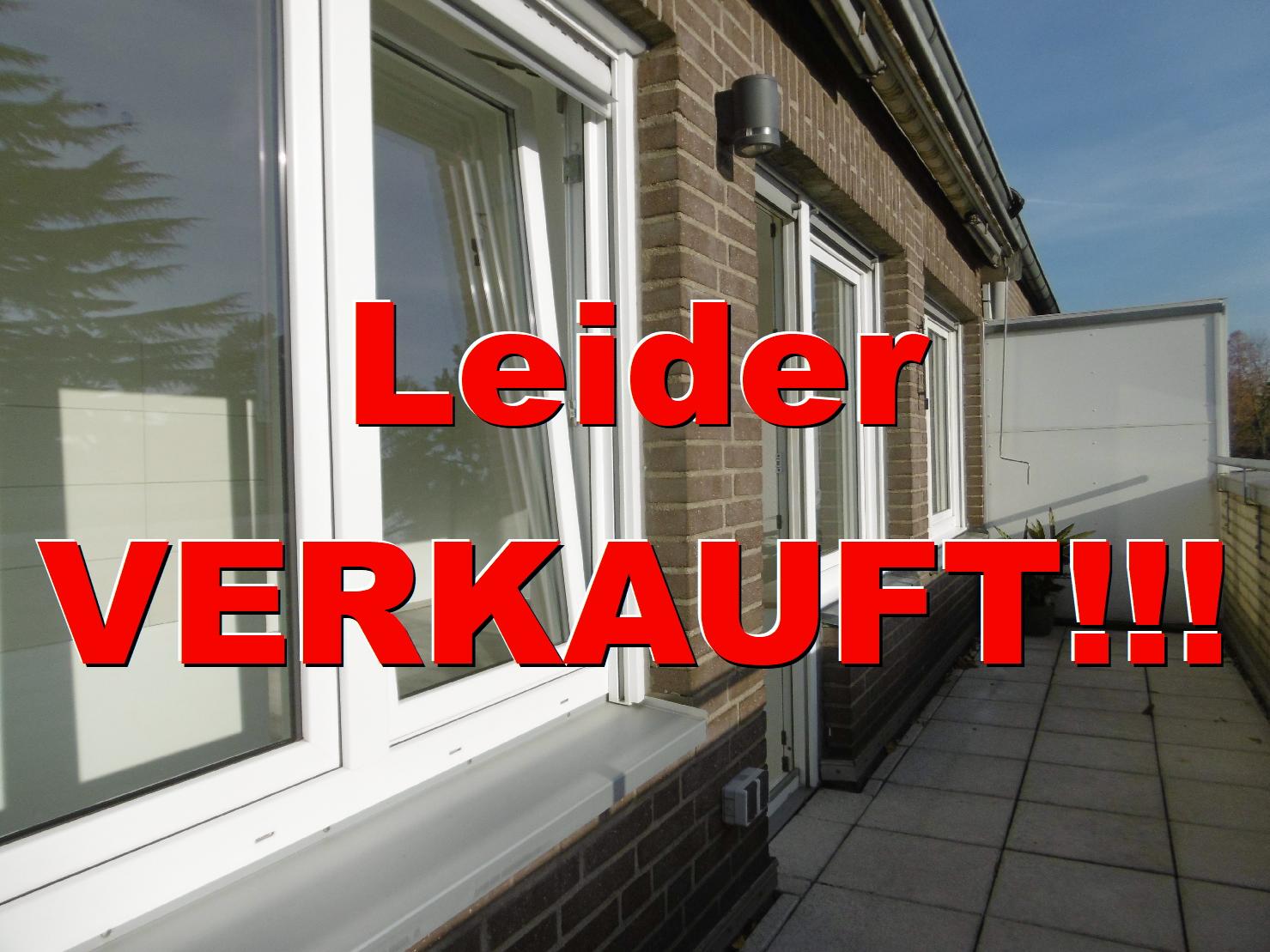Penthouse?, mit Blick ins Grüne. Citynahe Dachgeschoßwohnung in Krefeld-Bockum
